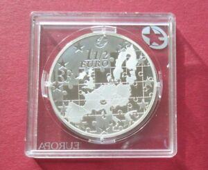 """Frankreich """"EU-Erweiterung"""" 1 1/2 Euro Ag 2004 SA3198 Mi.Nr. 748, Erh.: PP"""