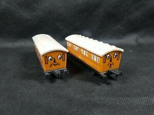 ERTL THOMAS THE TANK ENGINE & FRIENDS ANNIE & CLARABEL TRAIN CAR SET Lot