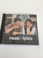 Music and Lyrics - Music From The Motion Picture CD Hugh Grant Mint
