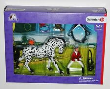 Schleich - Show with Knabstrupper Mare Set (41434) * New Boxed *