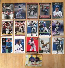 Vladimir Guerrero 16 Piece Baseball Card Lot NM Condition Montreal Expos