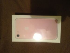 Apple iPhone 7 - 32GB - Rose Gold (Unlocked) A1778 Brand New in Box Sealed
