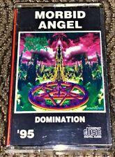 Morbid Angel – Domination. VG Cassette Tape Plays Well Rare