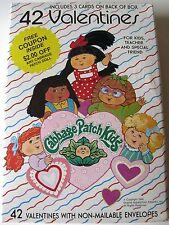 Vintage 1992 Cabbage Patch Kids Valentine's Day Box 42 Cards/Envelopes -New!