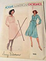 Vintage Vogue Misses Dress Sewing Pattern Size 10 Uncut