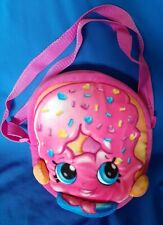Pink Shopkins Donut girls Shoulder Bag Purse Crossbody Bag adjustable