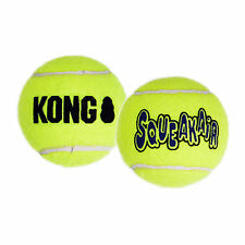 KONG AIR DOG Squeaker Tennis Ball - Dog Fetch Toy Large (AST1B)