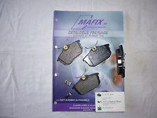 Mafix 4 plaquettes de frein arrière VOLVO S / V 40 (LDPA44)