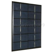 2W 6V Solar Panel DIY For Car Battery RV Boat Street Lamp Energy Chargers
