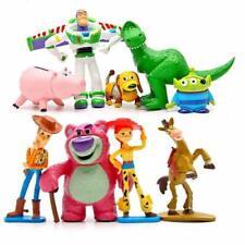 9pcs SET Toy Story Woody Lightyear Rex Jessie Lotso Action Figure Christmas Xmas