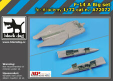Black Dog A72072 Resin 1/72 Grumman F-14A Tomcat Big Set Academy