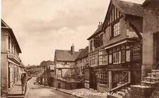 High Street Oxted Crown Hotel Pub unused old pc Frith