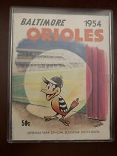 BALTIMORE ORIOLES 1954 {1ST YEAR} YEARBOOK