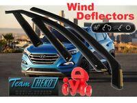 HYUNDAI TUCSON 5D  2015 - ON  Wind deflectors 4 pc set HEKO  17285