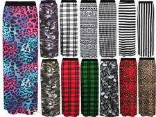 Unbranded Machine Washable Striped Regular Size Skirts for Women