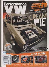 PERFORMANCE VW MAGAZINE JAN 2014, CREAM PIE.
