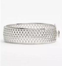 Judith Jack Decadent Color Women's Silver Bangle Bracelet 5941