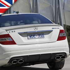 W204 Paintable PU Rear Boot/Trunk Lip Spoiler for Mercedes C-Class C63 AMG Style