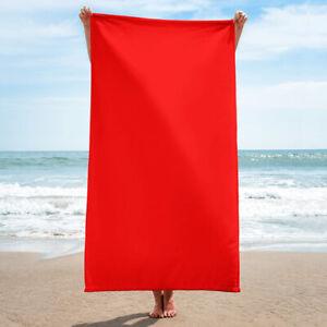 Cardinal Red Towel