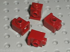 4 x LEGO DkRed Brick with Headlight ref 4070 / Set 10188 7048 6243 10195 8031...