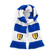 Retro Ipswich Town 1962 Blue/White Traditional Football Scarf Embroidered Logo