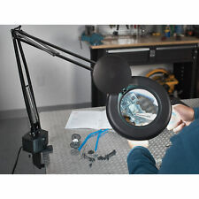 2X Magnifying Glass with Light and Stand - 5in.