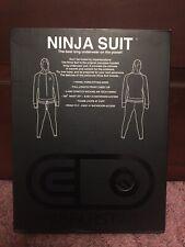 Air Blaster Classic Ninja Suit Mens Long Underwear Small Black