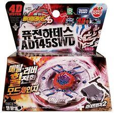 TAKARA TOMY / HASBRO Fusion Hades / Firefuse Darkhelm AD145SWD Beyblade BB-123