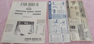 lot of assorted train literature and articles