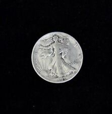 1943 - LIBERTY WALKING HALF DOLLAR - SILVER - FINE CONDITION