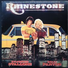 Import! Dolly Parton Mike Post RHINESTONE film soundtrack country LP 84 Stallone