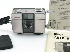 Ricoh Auto Half E Ricoh lens f2,8 25mm No 1288604 with flash unit adaptor sl080