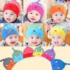 Unisex Cotton Beanie Hat Soft Cap For NewBorn Baby Boys Girls Toddler Infant