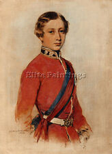 FRANZ XAVIER WINTERHALTER ALBERT EDWARD PRINCE OF WALES 1859 ARTIST PAINTING OIL