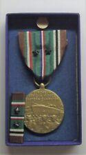 Ww Ii European African Campaign Medal Set in Box 2 Battle Stars Maco Mfg