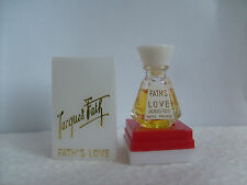 """Miniature de parfum FATH """" Fath love """"  1968 RARE"""