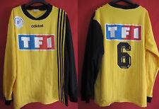 Maillot Coupe de France jaune TF1 porté n° 6 Adidas Football - XL