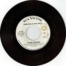 """NEAL HEFTI RCA Records """"Oh Dad, Poor Dan"""" A Boy and Girl"""" 45 RPM - VG"""