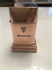 Zippo kennecott Barcroft Table Lighter Copper Or Other Material. Very Rare
