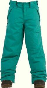 BILLABONG Girls' TWISTY Snow Pants - JAD - Large (14/16) - NWT
