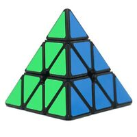 Shengshou Legend  Pyramid -  Magic Cube  Puzzle - Black