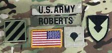 6 US ARMY OCP Multicam Scorpion 3rd ID patch Set Uniform Konvolut USA Flagge