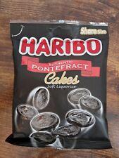 175 gram BAG OF HARIBO PONTEFRACT CAKES SOFT LIQUORICE SWEETS, RETRO SWEETS