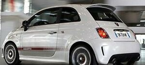 ROOF SPOILER for  FIAT 500 ABARTH new superb (2008 - present)