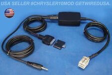 CHRYSLER SMARTPHONE 3.5MM iPOD iPHONE 5 S C 6 8-PIN AUX IN 02 03 04 05 06 07 08