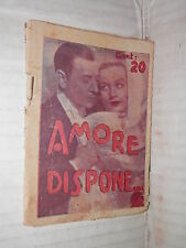 AMORE DISPONE Carole Lombard e George Raft in RUMBA Paramount 1936 romanzo libro
