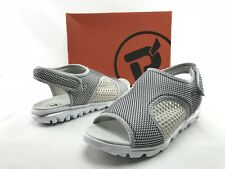 NEW Propet Travelactiv Women's Silver Slip On Slide Fashion Shoes US 9.5 2E B993