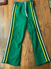 Vintage 1980s Oregon Ducks Game Used Basketball Warmup Pants Worn by Paul Bain