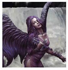 1/16 Resin Figure Model Kit Bust Sexy Girl Twilight Angel Unassambled Unpainted