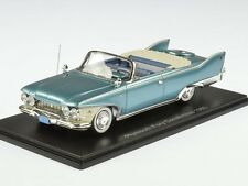 Neo Plymouth Fury Convertible 1960 Turquoise Met./White 1:43 44693